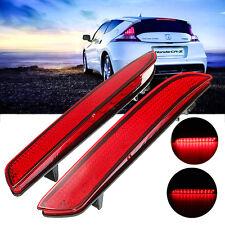 2PCS Rear LED Bumper Reflector Tail Brake Turning Light For Honda CR-Z CR-V US