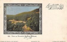 Reading PA~Neversink Mountain Railroad~Interurban Trolley~Art Nouveau~1902 PC
