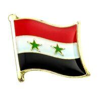 Syria Flag Badge Enamel Pin Metal Syrian