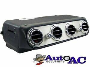 Add On Under dash A/C Evaporator with 4 Round vents 1965 1966 1967 1968 Mustang
