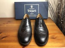 Mens - Trickers - Espresso / Brown Brogue Shoes - UK 8