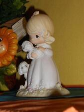 PRECIOUS MOMENTS  THE LORD IS MY SHEPHERD PM 851 RARE CLUB PIECE NEW COMPLETE!