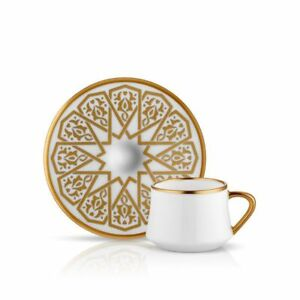 Koleksiyon Ottoman ( Coffee Cups ) cups & saucers ( 6 pcs ) set