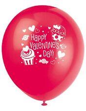 20.3x30.5cm Cupcake Cœur Ballons En Latex St. Valentin Fête Décoration De Table