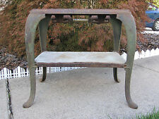 ANTIQUE ART NOUVEAU GARLAND MINI STOVE INTERIOR DECORATE COFFEE SIDE END TABLE
