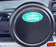 LAND ROVER FREELANDER 4x4 Semi-Rigid Spare Wheel Cover BLACK WITH LOGO
