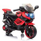 Kids Electric Motorcycle Battery Powered Ride On Toy 4 Wheels For 3-8 Years