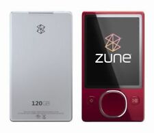 New ListingMicrosoft Zune 120 Red (120Gb) Digital Media Player - As-Is