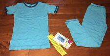 KicKee Pants Boys Confetti Twilight Trim Shirt & Pants Pajamas Size 6 New