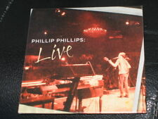 PHILLIP PHILLIPS - LIVE - 3 Track LIVE CD EP! SEALED! NEW! RARE! OOP!