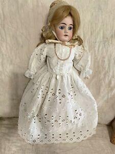 """18"""" Bisque Head Kley & Hahn 5/0 doll"""