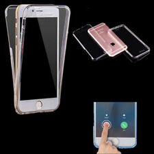 360° Full Body Front Back Hard Cover Shockproof Slim PC Case For iPhone Samsung