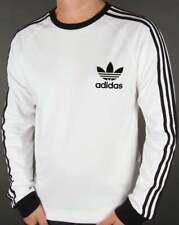 Adidas Men's Long Sleeve Trefoil Logo Graphic T-Shirt
