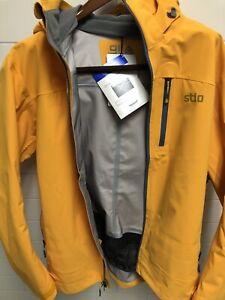 NWT - Stio Men's Environ Jacket - Large - Mineral Yelllow