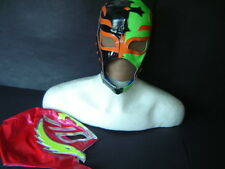 """LOT 2 YOUNG """"REY MYSTERIO"""" WRESTLING MASKS MADE OF SPECIAL FABRIC youth SIZE FRE"""