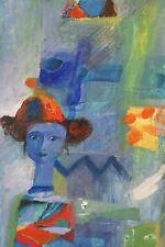 Yoël Benharrouche, Deguisement ou révelations des secrets, oil canvas, new price