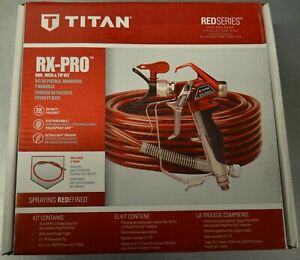 Titan Red Series RX-Pro 53803 Gun, Hose, And Tip Kit NEW
