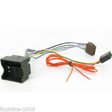 AUDI A3 2005 to 2012 QUADLOCK FAKRA ISO HARNESS ADAPTER WIRING LEAD CT20AU01