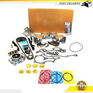 Master Overhaul Engine Rebuild Kit Fits 85-95 Toyota 2.4L SOHC 22R 22RE 22REC