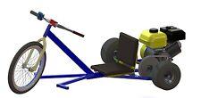 Build Your Own Motorized Drift Trike Go Kart Plans.