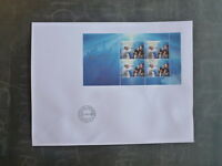 2016 VATICAN CITY POLAND JOINT ISSUE WORLD YOUTH DAY SHEETLET FIRST DAY COVER