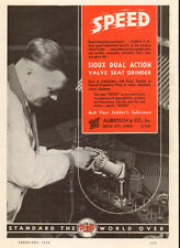 1938 AD SIOUX Dual Action Valve Seat Grinder Sioux Tools Sioux City Iowa 092615