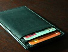 Real Leather Credit Card holder Slim Mini Wallet Men Women gift for All SeasonS