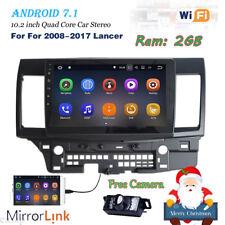 Car Multimedia Player F Mitsubishi Lancer 2008-2017 No-DVD GPS Navi Radio Stereo
