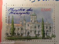 FRANCE, 2009, timbre 4402 CAPITALES EUROPEENNES, LISBONNE, MONASTERE neuf**, MNH