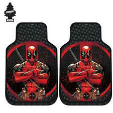 FOR VW NEW MARVEL DEADPOOL CAR TRUCK SUV 4 PIECES FLOOR MATS SET W GIFT