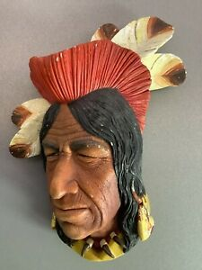 Bossons Decorative Wall Plaque - Tecumseh Famous Shawnee Chief