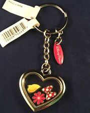 Disney Parks Minnie Mouse Memory Locket Icon Keychain Castle Bow Flower Shoe
