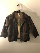 GYMBOREE BROWN KIDS JACKET COAT OUTERWEAR WINTER Small 5-6