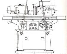 Rundschleifmaschine Tschudin HTG 400 Bedienungsanleitung