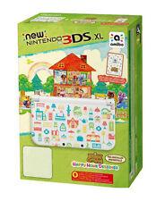 Nintendo 3DS XL Animal Crossing 4GB Weiß Handheld-Spielkonsole