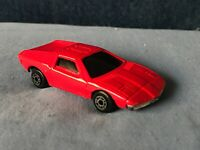 BMW Turbo Vintage Die-Cast Unknown Mfg. Red Dinky?