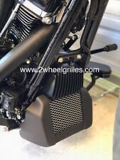 2017 2018 Harley Davidson Milwaukee Eight Custom Chrome Oil Cooler Grille Screen