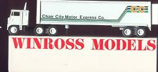 Chair City Motor Express Co '81 Winross Truck