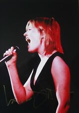 DIDO original hand signed mounted (matted) photo 10.6 x 8 inch by Mel Longhurst