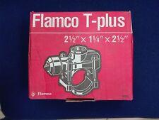 """Flamco T-plus DN 65 Rohrverbindung für Stahlrohre 2 1/2"""" x 1 1/4"""" x 2 1/2"""""""