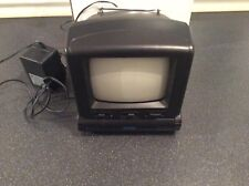 VISIOLUX 1421B Portable Analogue Black and White TV with AM/FM Radio - Collectio