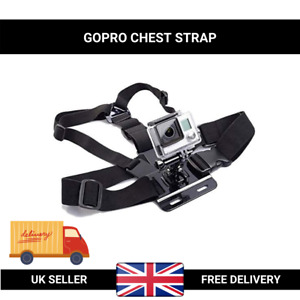 Outdoor Body Chest Strap Harness Mount for GoPro HD Hero Camera Holder Action UK