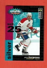 1995-96 Collectors Choice YOU CRASH THE GAME insert # C15 Pierre Turgeon Oct. 25