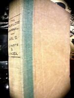 ENGLISH FOLK-LORE JOURNAL VOL II 1884 12 PARTS + INDEX COMPLETE RARE * FOLKLORE