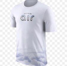 Nike Air Max 90 97 T-shirt Put It In The Air SZ XL White Blue Max Lab AO8006-100