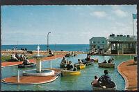 Norfolk Postcard - Cromer - The Boating Lake, West Parade  U4216