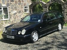 1998 Mercedes Benz E240 V6 Avantgarde Automatic 5 seat Estate BLACK