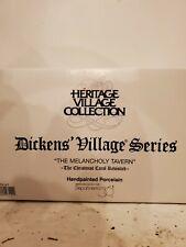 "New ListingDept 56 Dickens Heritage Village Series ""The Melancholy Tavern"" #58347Nib"