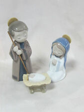 NAO BY LLADRO NATIVITY #327 BRAND NEW IN BOX 3 PIECE HOLY FAMILY SAVE$$ F/SH