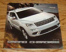 Original 2018 Jeep Grand Cherokee Deluxe Sales Brochure 18 Summit Overland SRT